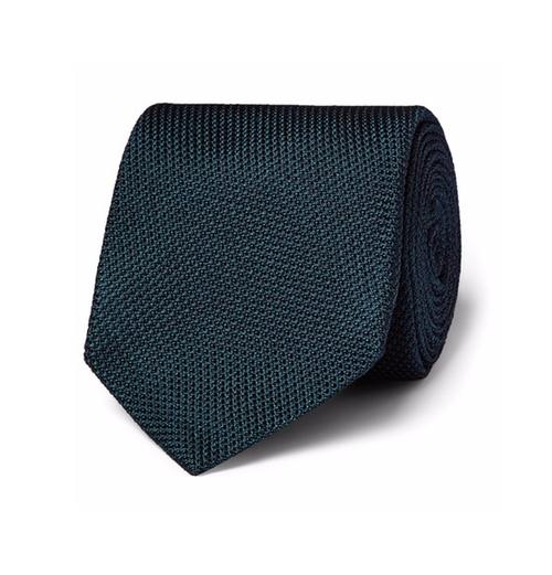 Silk Grenadine Tie by Kingsman + Drake's in Kingsman: The Secret Service