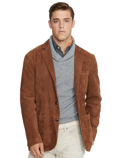 Suede Sport Coat by Polo Ralph Lauren in X-Men: Days of Future Past