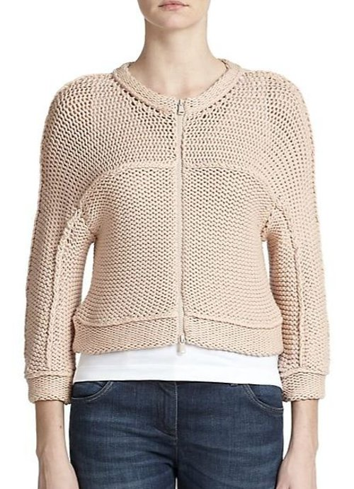 Tubular-Knit Cardigan by Brunello Cucinelli in The Best of Me