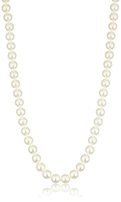 White Japanese Akoya Cultured Pearl Necklace by Radiance Pearls in The Best of Me