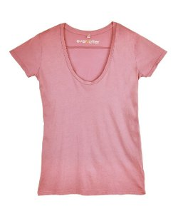 Scoop Neck T-Shirt by Ever/After in The Gunman