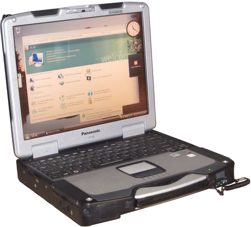 Toughbook CF-30 Laptop by Panasonic in Mr. & Mrs. Smith