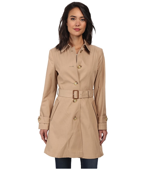 Single Breast Skirted Trench Coat by Lauren By Ralph Lauren in Safe House
