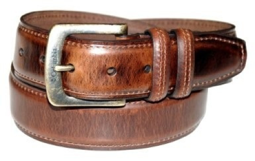 Men's 40mm Oil Tan Leather Edge Belt by Columbia in Crazy, Stupid, Love.