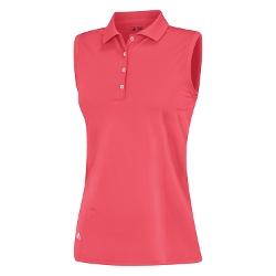 Essentials Sleeveless Solid Polo Shirt by Adidas in Boyhood