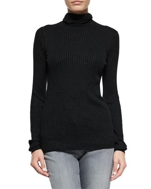 Long-Sleeve Skinny-Rib Sweater by Vince in Kill Bill: Vol. 1