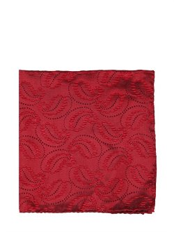 Paisley Silk Jacquard Pocket Square by Giorgio Armani in The Great Gatsby