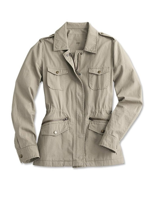 Cotton-twill Field Jacket by Orvis in Keeping Up With The Kardashians - Season 11 Episode 1