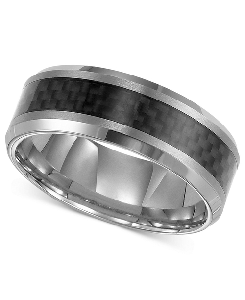 Men's Tungsten Carbide Ring by Triton in Ride Along 2