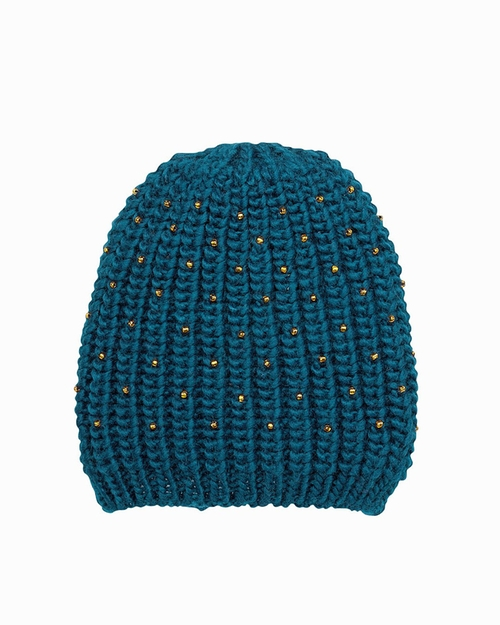 Knit Bead Beanie by San Diego Hat Company in The Mindy Project - Season 4 Episode 12