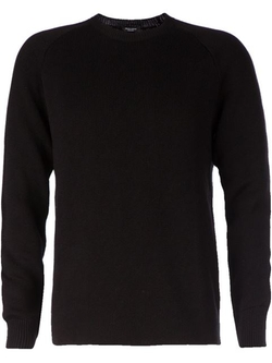 Crew Neck Sweater by Roberto Collina in Straight Outta Compton