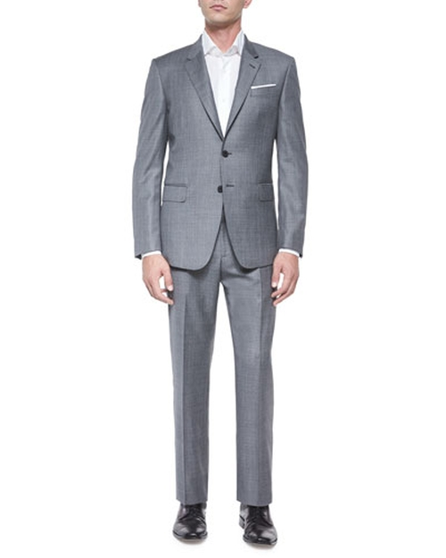 Bayard Sharkskin Two-Piece Wool Suit by Paul Smith	 in Empire - Season 2 Episode 1