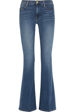 Le High Flare High-Rise Jeans by Frame Denim in Kill Bill: Vol. 1