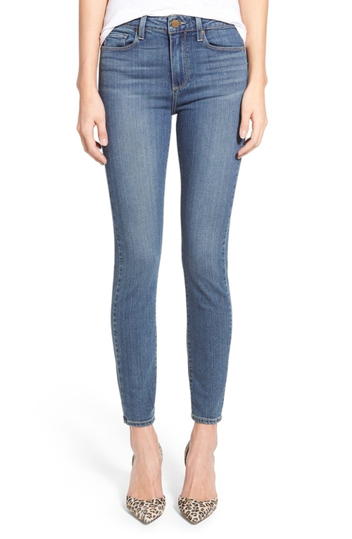 High Rise Ankle Ultra Skinny Jeans by Paige Denim  in Keeping Up With The Kardashians