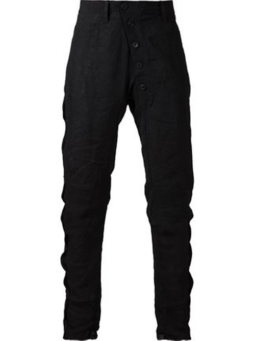 Drop Crotch Trousers by Lost And Found in We Are Your Friends