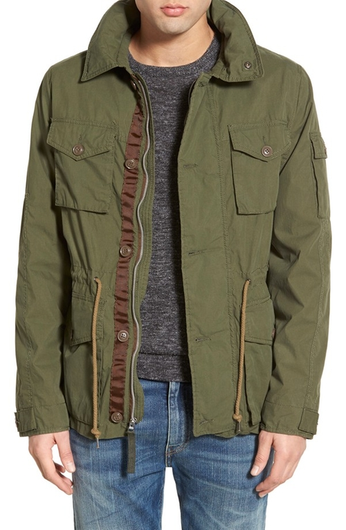 Men's M-65 Field Jacket by Alpha Industries in Edge of Tomorrow