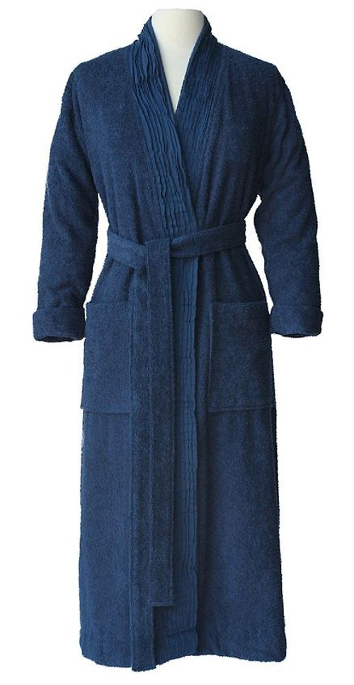 Women's Pleated All-Cotton Bathrobe by Nine Space in The Best of Me
