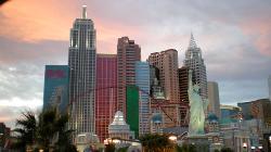 Las Vegas, Nevada by New York New York Hotel and Casino in Godzilla
