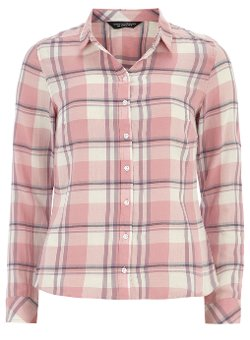 Pink Long Sleeved Check Shirt by Dorothy Perkins in American Sniper