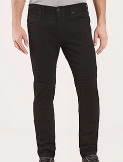 Rocco Skinny Moto Jeans by True Religion in The Flash