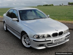 5 E39 Sedan by BMW in Mr. & Mrs. Smith
