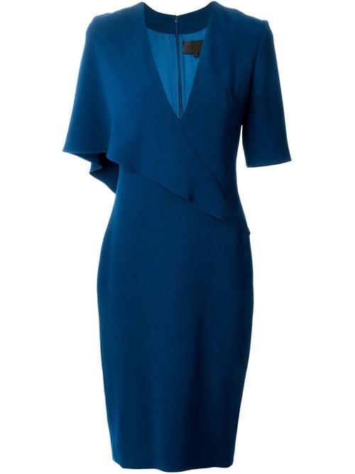 V-Neck Dress by Cushnie Et Ochs in Suits - Season 5 Episode 14