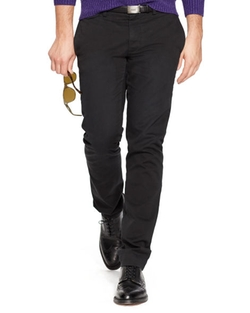 Slim-Fit Cotton Chino Pants by Polo Ralph Lauren in Our Brand Is Crisis