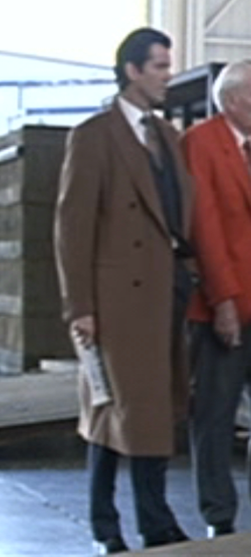 Double Breasted Overcoat by Brioni in Tomorrow Never Dies
