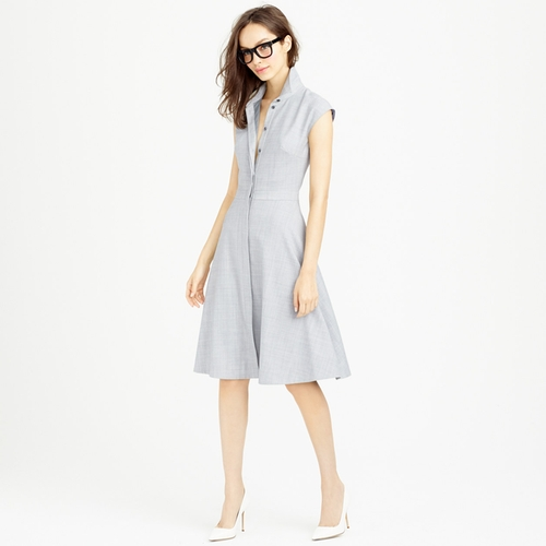 Cap-Sleeve Shirtdress by J. Crew in New Girl - Season 5 Episode 10