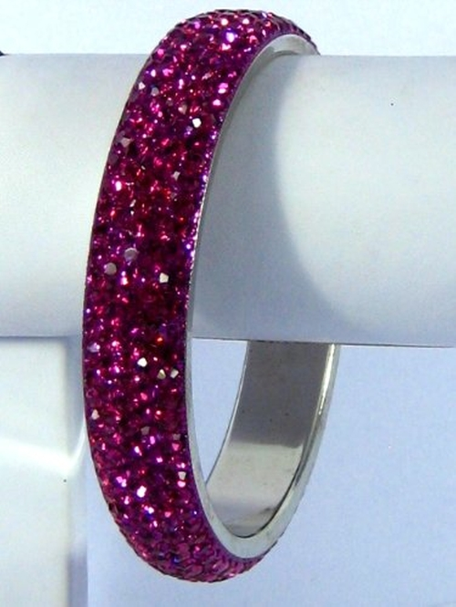 Crystal Bangle Bracelet by Crystal Bracelets by Golden India in The Best of Me