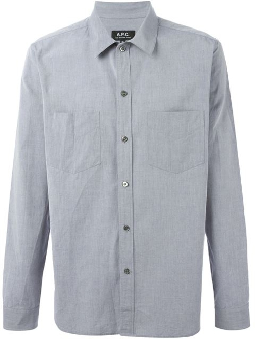 Classic Button Down Shirt by A.P.C. in Magic Mike XXL