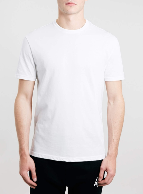 Classic Crew Neck T-Shirt by Topman in Maze Runner: The Scorch Trials