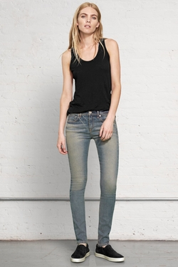High Rise Skinny Jeans by Rag & Bone in Transformers: Age of Extinction