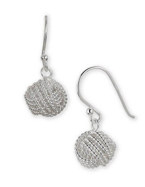 Woven Ball Drop Earrings by Lord & Taylor in While We're Young
