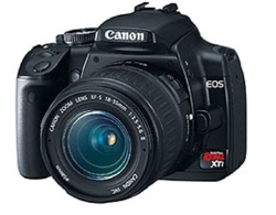Rebel XTi DSLR Camera by Canon in The Overnight