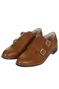 Fleetwood Buckle Monk Shoes by Topshop in The Disappearance of Eleanor Rigby