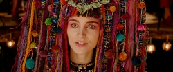 Custom Made 'Headdress' (Tiger Lily) by Jacqueline Durran (Costume Designer) in Pan