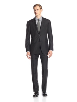 2 Button Notch Lapel Suit by John Varvatos in Elementary