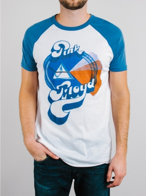 Short Sleeve Raglan T-Shirt by Pink Floyd in Mistresses
