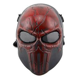 Full Face War Game Wargame CS Skeleton Mask (Red Copper) by Coxeer in The Purge: Anarchy