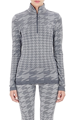 Houndstooth Jacquard Sweater Jacket by Adidas X Stella Mccartney in Nashville