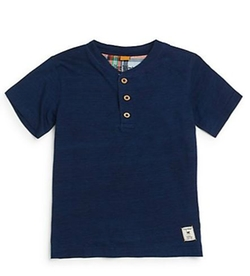 Boys Henley Tee Shirt by Tailor Vintage in Modern Family