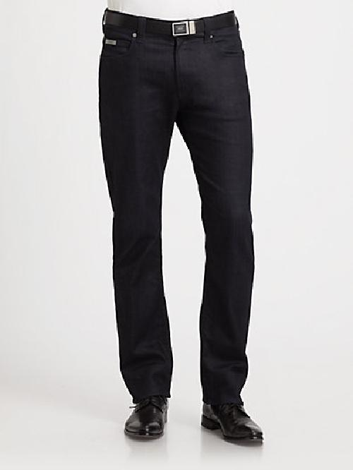 Slim-Fit Denim Pants by Armani Collezioni in Neighbors