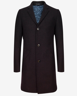 Gains Wool Ombré Overcoat by Ted Baker in Billions