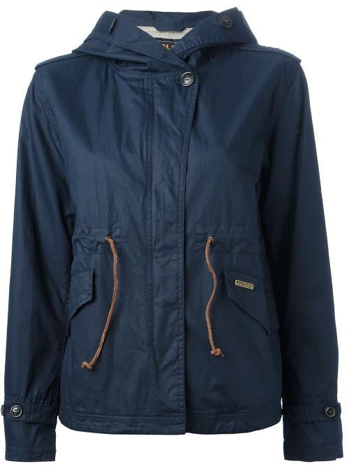 sports jacket by WOOLRICH in The Fault In Our Stars