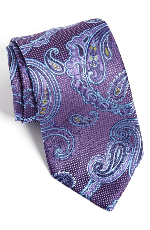 Paisley Silk Tie by David Donahue in The Good Wife - Season 7 Episode 2
