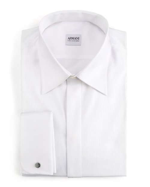 Basic Formal Shirt by Armani Collezioni	 in New Year's Eve