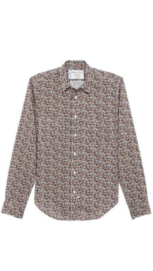 Mushroom Classic Shirt by Sidian, Ersatz & Vanes in What If