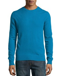 Cashmere Crew-Neck Sweater by Neiman Marcus in The Secret Life of Walter Mitty