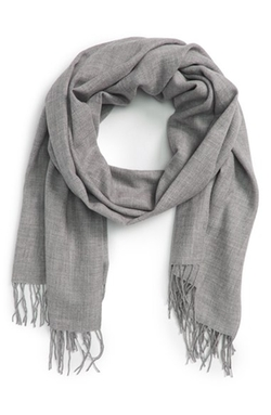Tissue Weight Wool & Cashmere Scarf by Nordstrom in Popstar: Never Stop Never Stopping